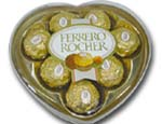 Heart shape Ferrero 100g